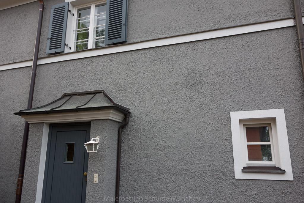 Eine Fassadenrenovierung des Maler Schume München