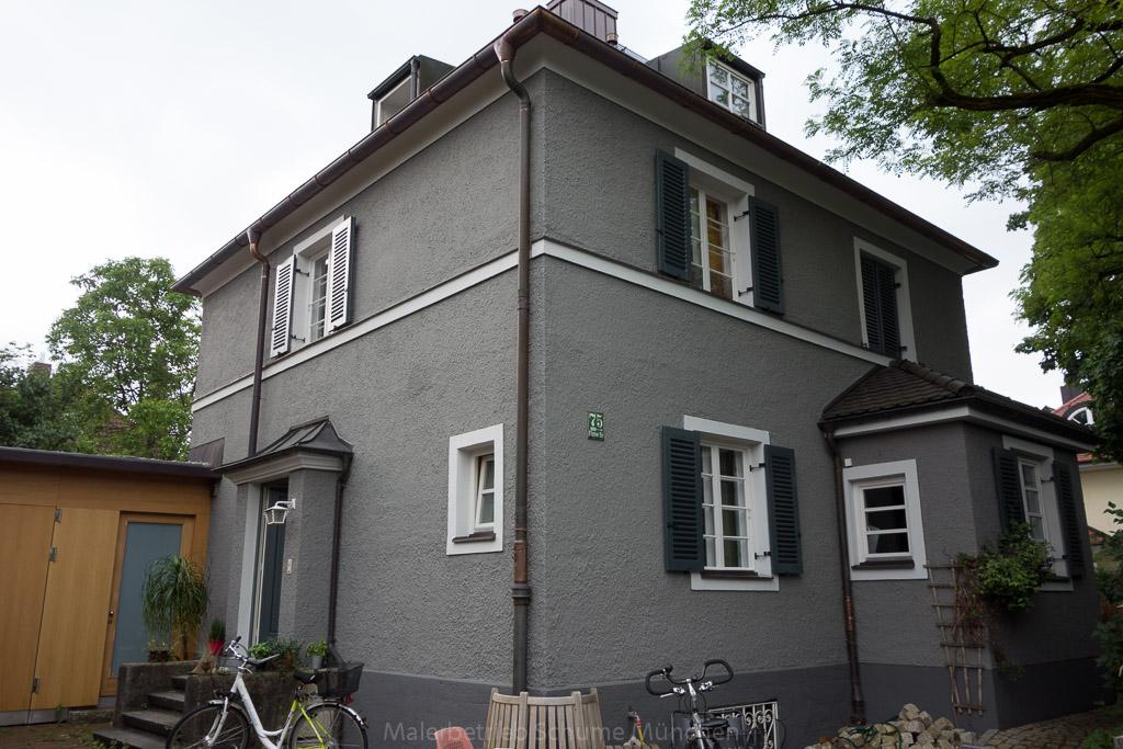 Fassadenrenovierung des Maler Schume München