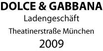 Malerarbeiten im Laden Dolce & Gabanna München Theatinerstraße Maler Schume